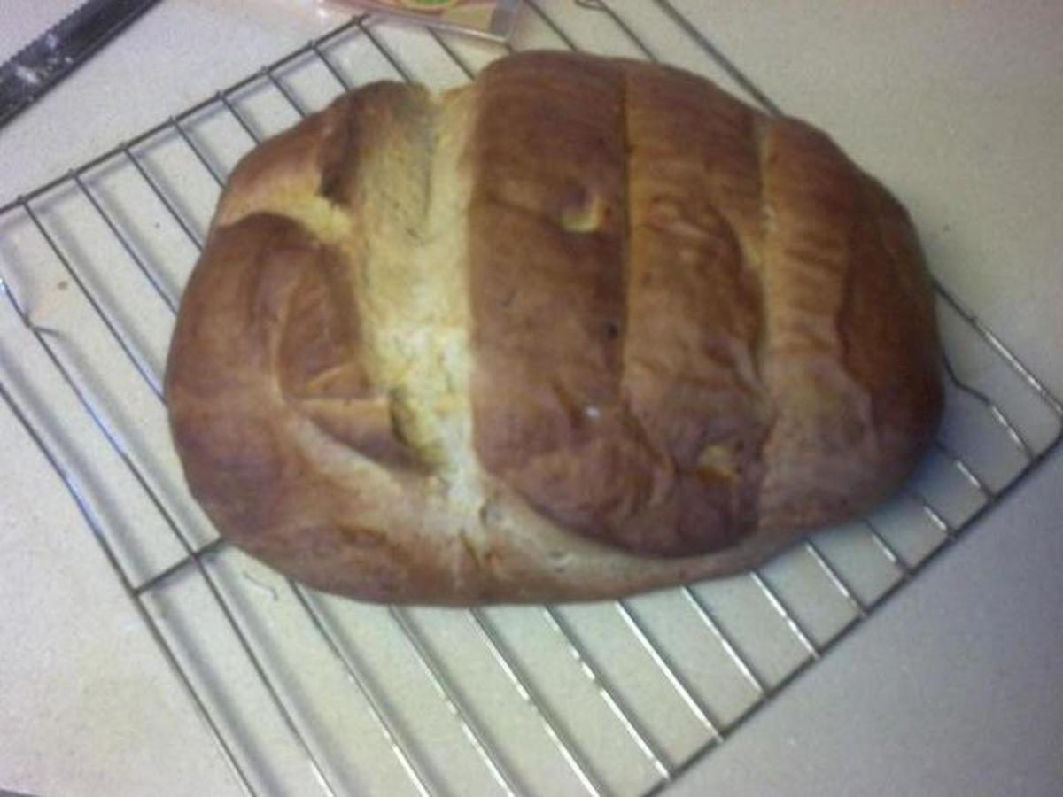 Panera Three Cheese Bread image