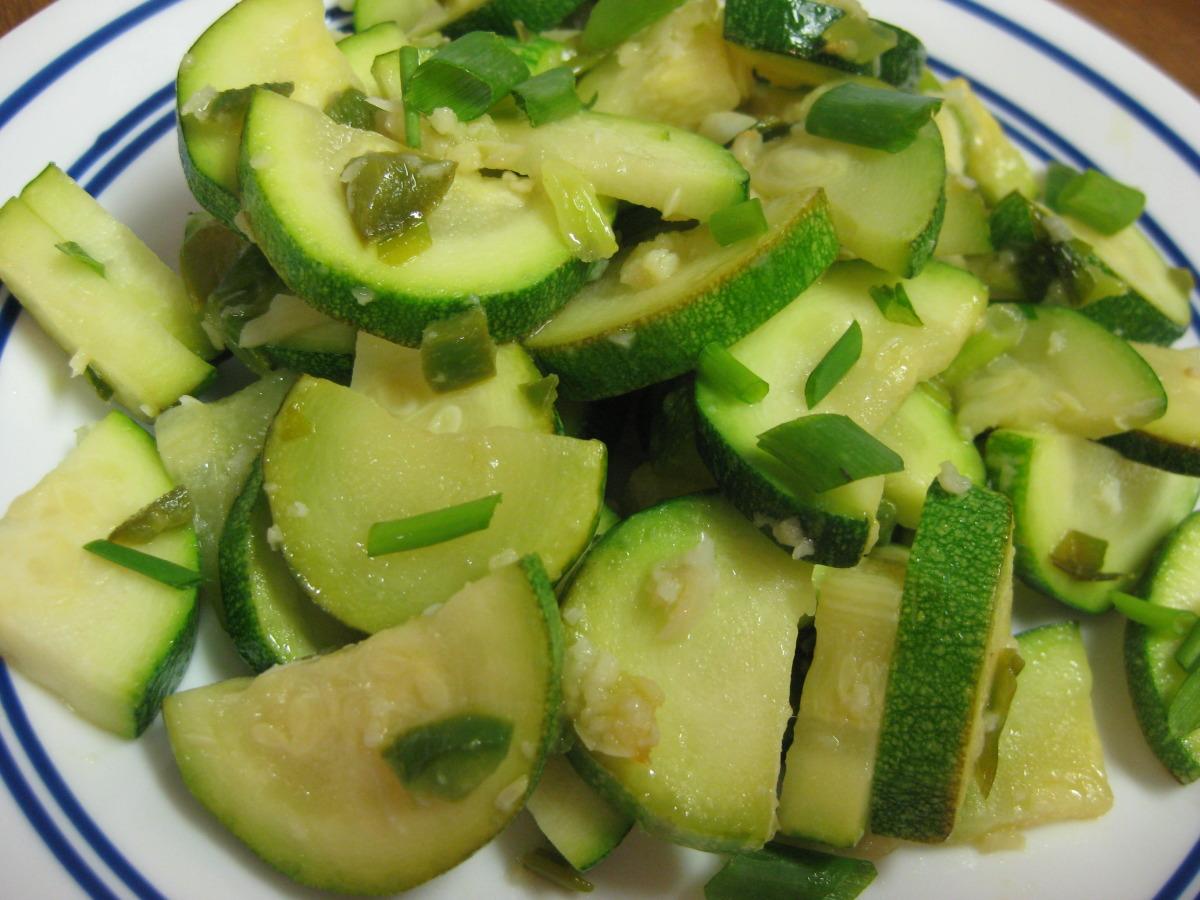 Spicy Sauteed Zucchini image