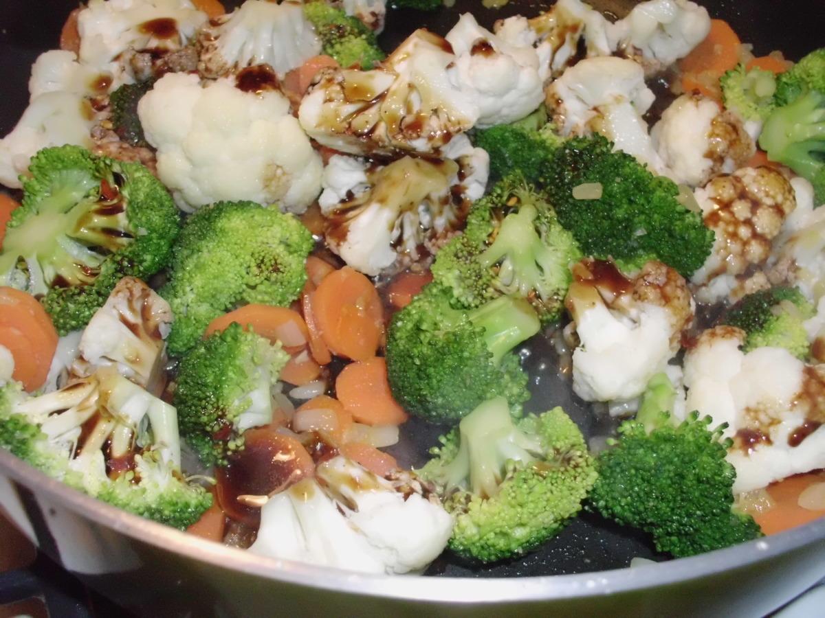 Broccoli And Cauliflower Stir Fry Recipe Food Com