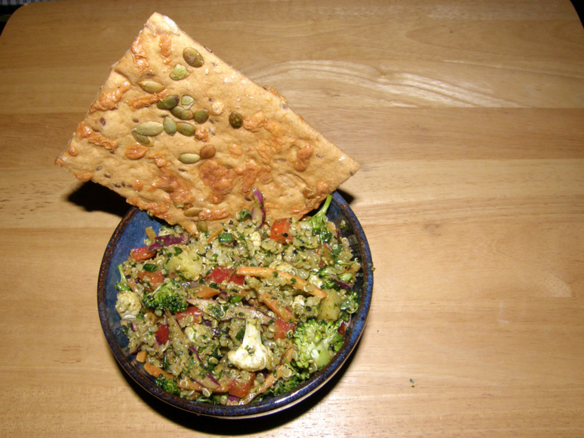 Zesty Confetti Salad With Quinoa image