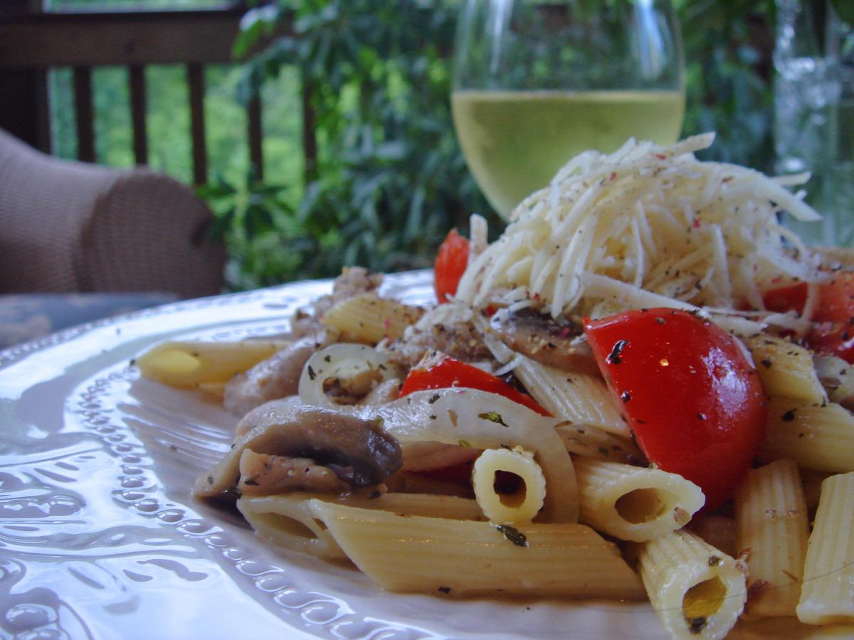 Chicken and Mushroom Pasta_image