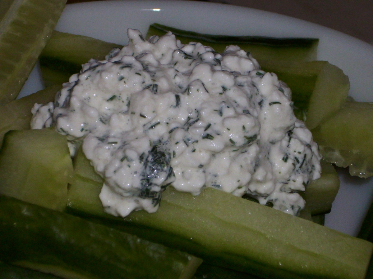 Diet Friendly Dill Dip, Spread, or Salad Dressing image