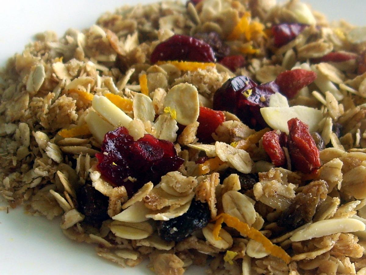 Low Fat Citrus Granola Recipe Food Com