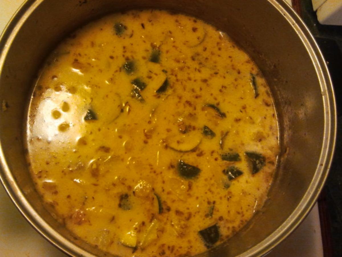 Zucchini Potato and Parmesan Soup image
