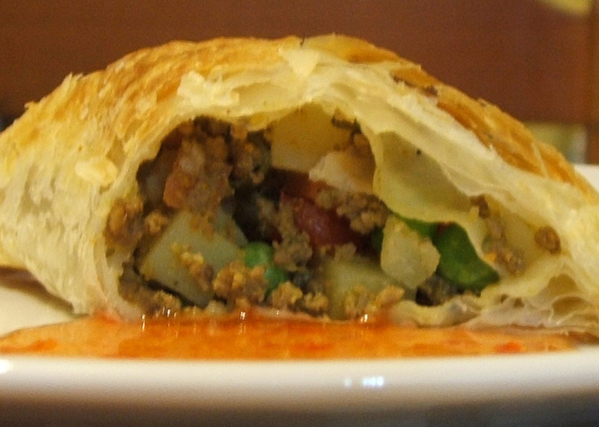 Baked Curry Puffs image