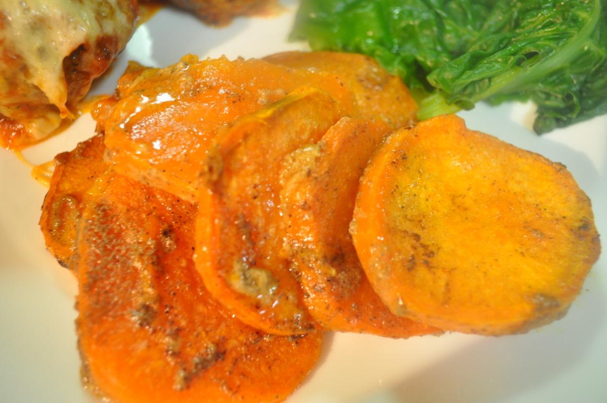 Sweet Potatoes in Creamy Cinnamon Sauce image
