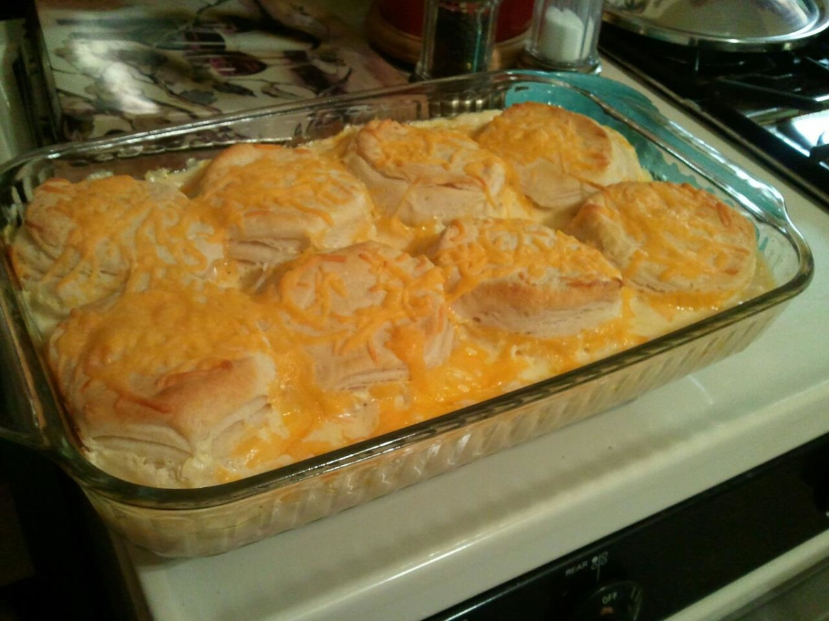 Creamed Chicken and Biscuits image