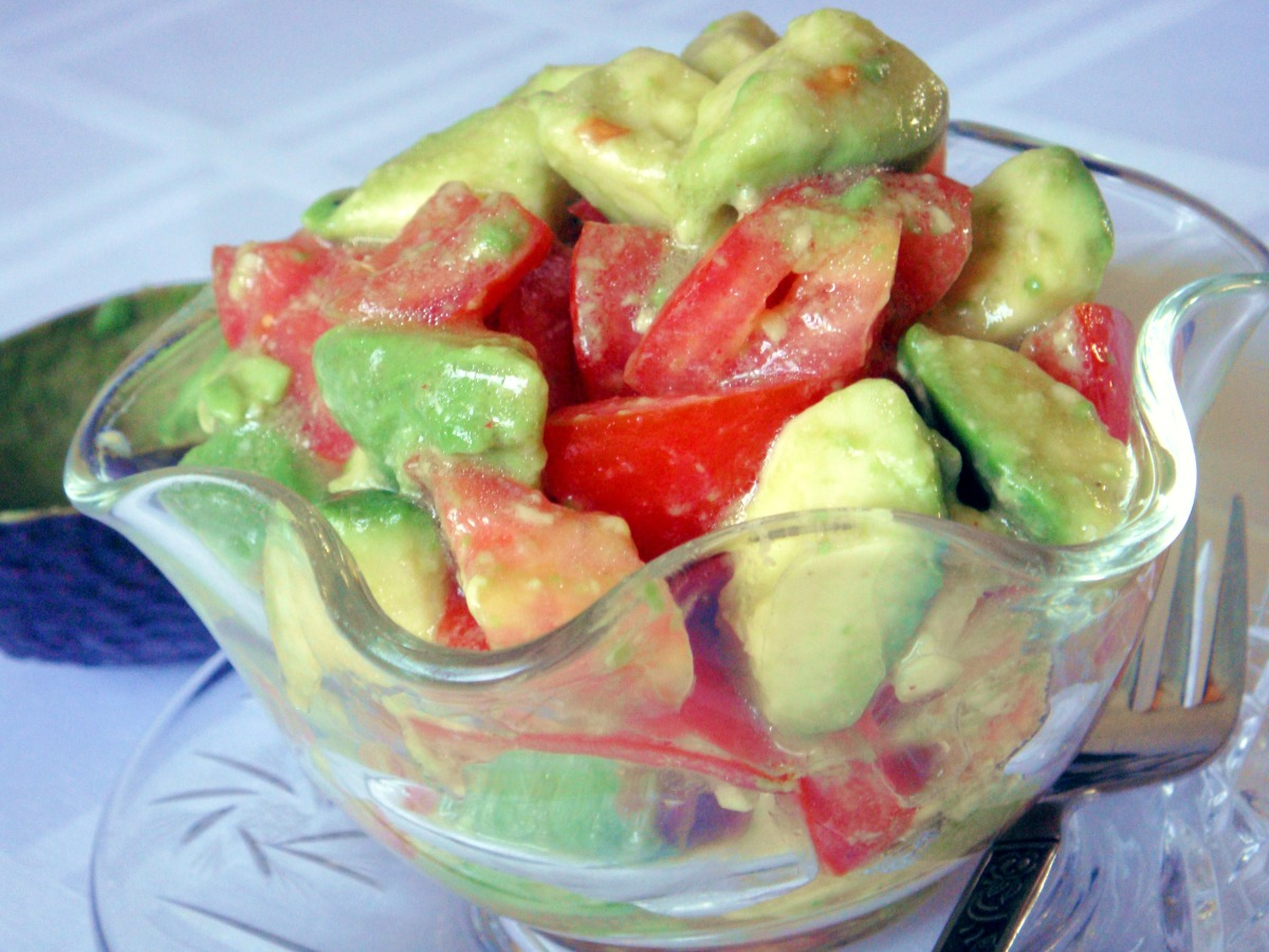 Easy Avocado and Tomato Salad image