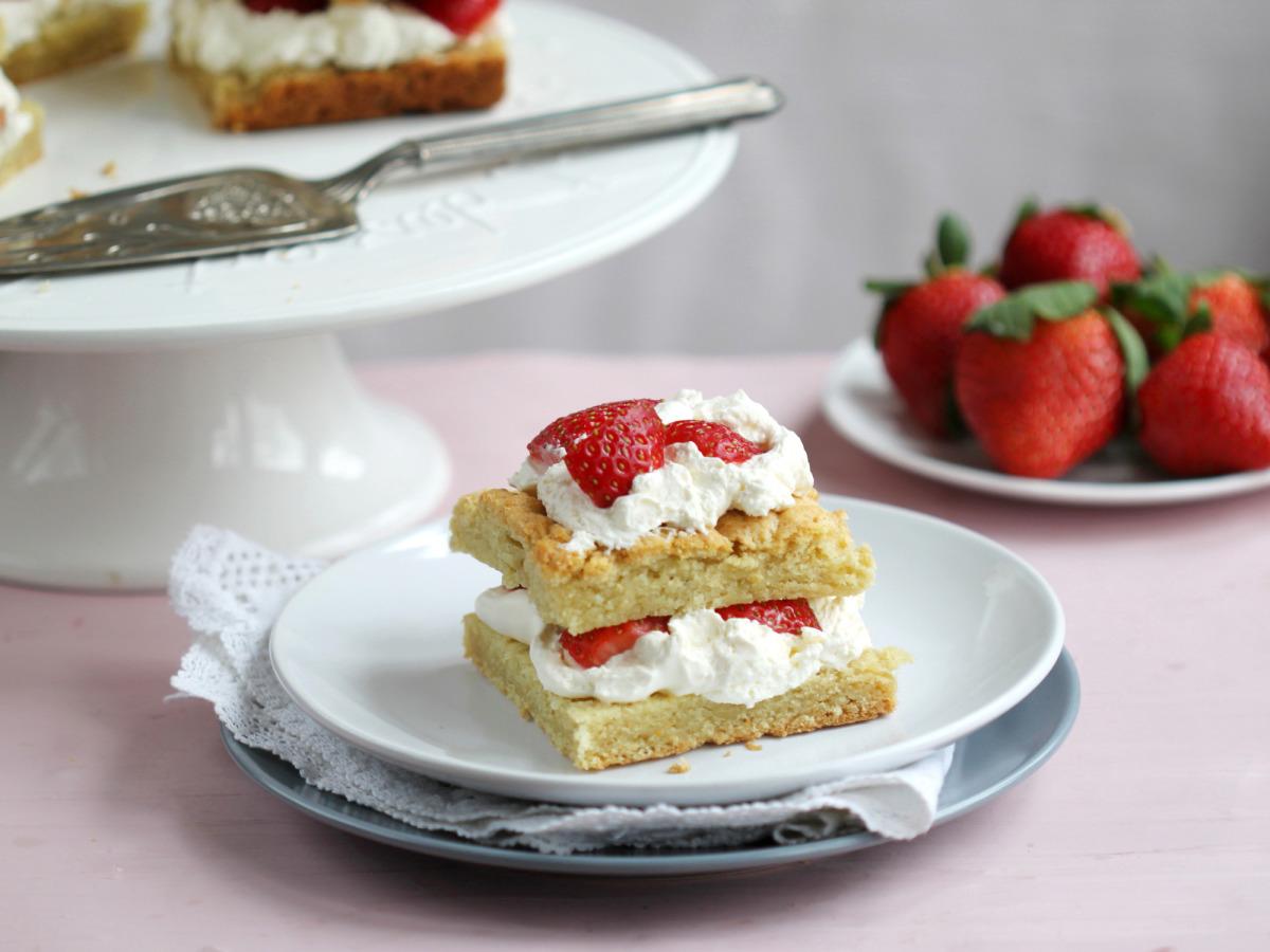 Easy and Tasty Strawberry Shortcake image