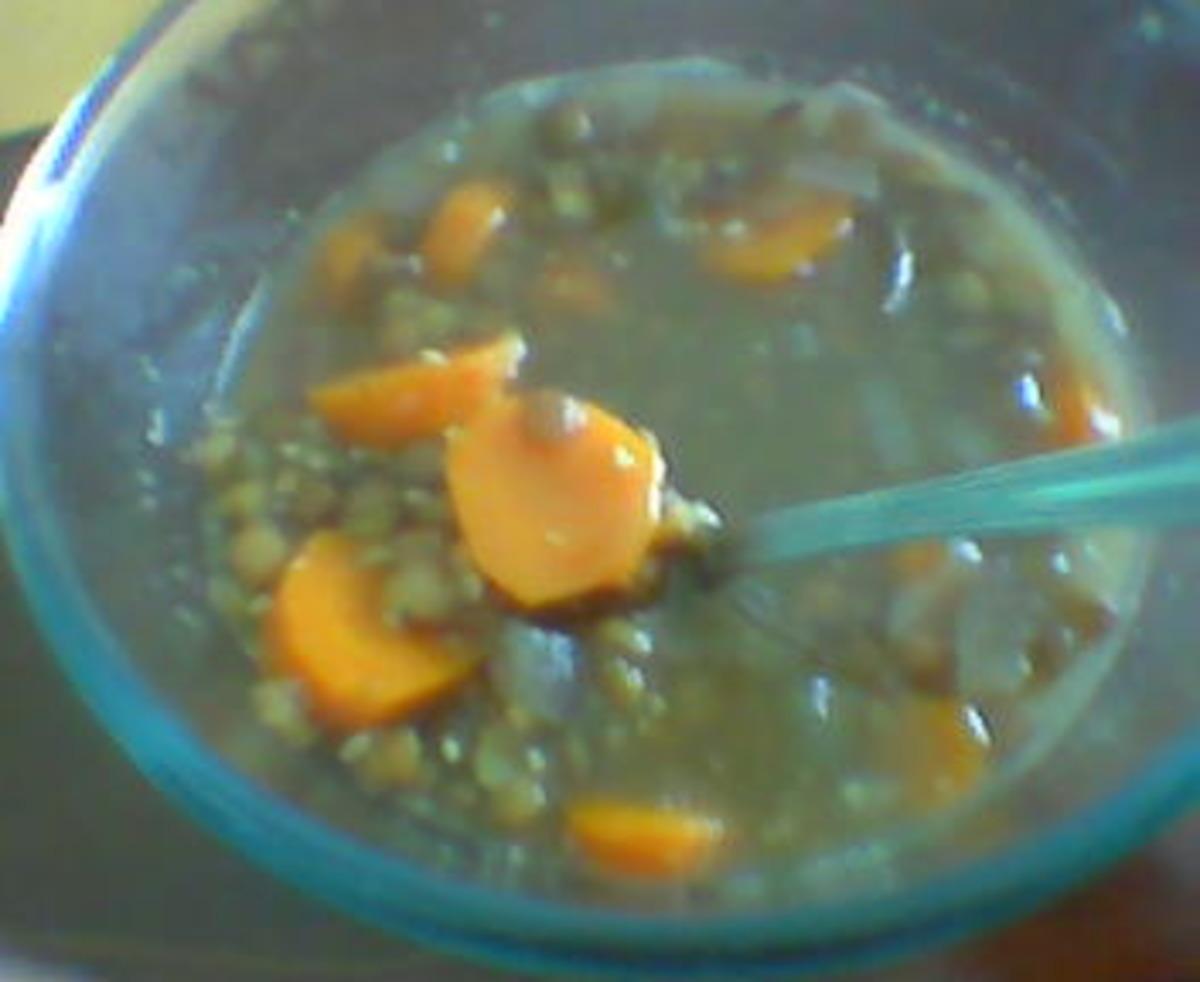 Garlic Lentil Soup image