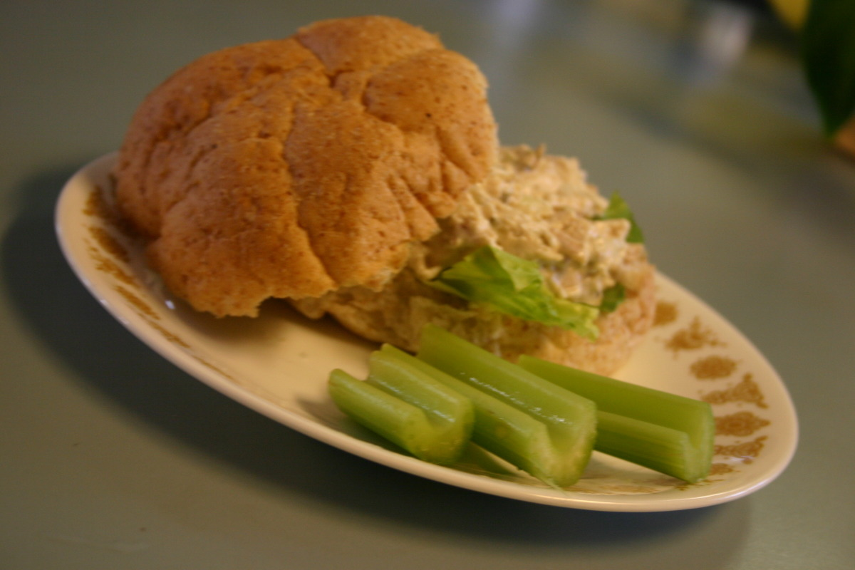 Easy Quick Delicious No-Mayonnaise Chicken Salad image
