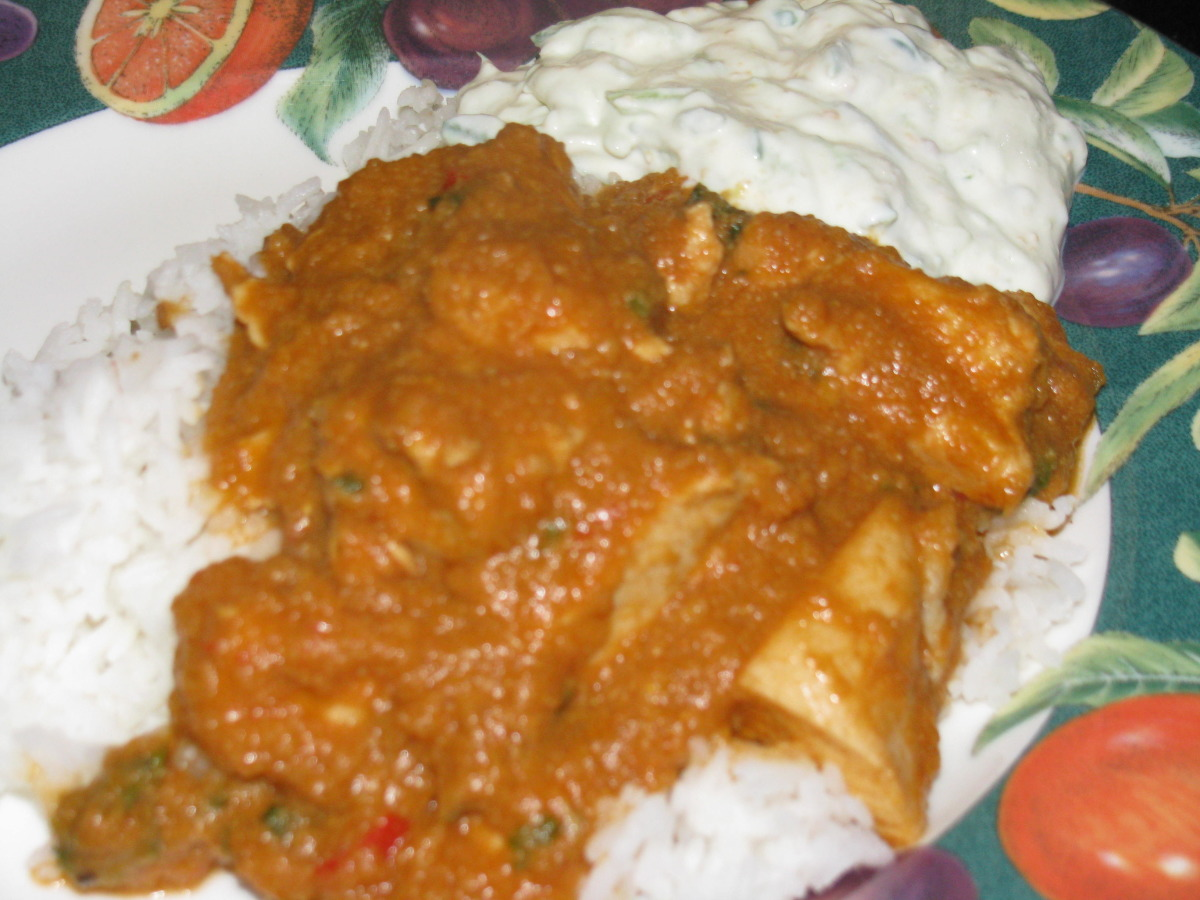 Chicken Masala Curry image