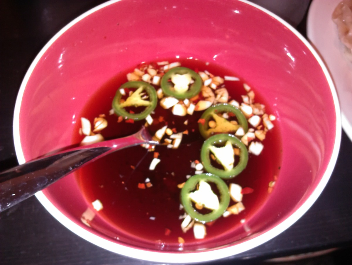Soy Dipping Sauce (For Pot Stickers or Egg Rolls) image