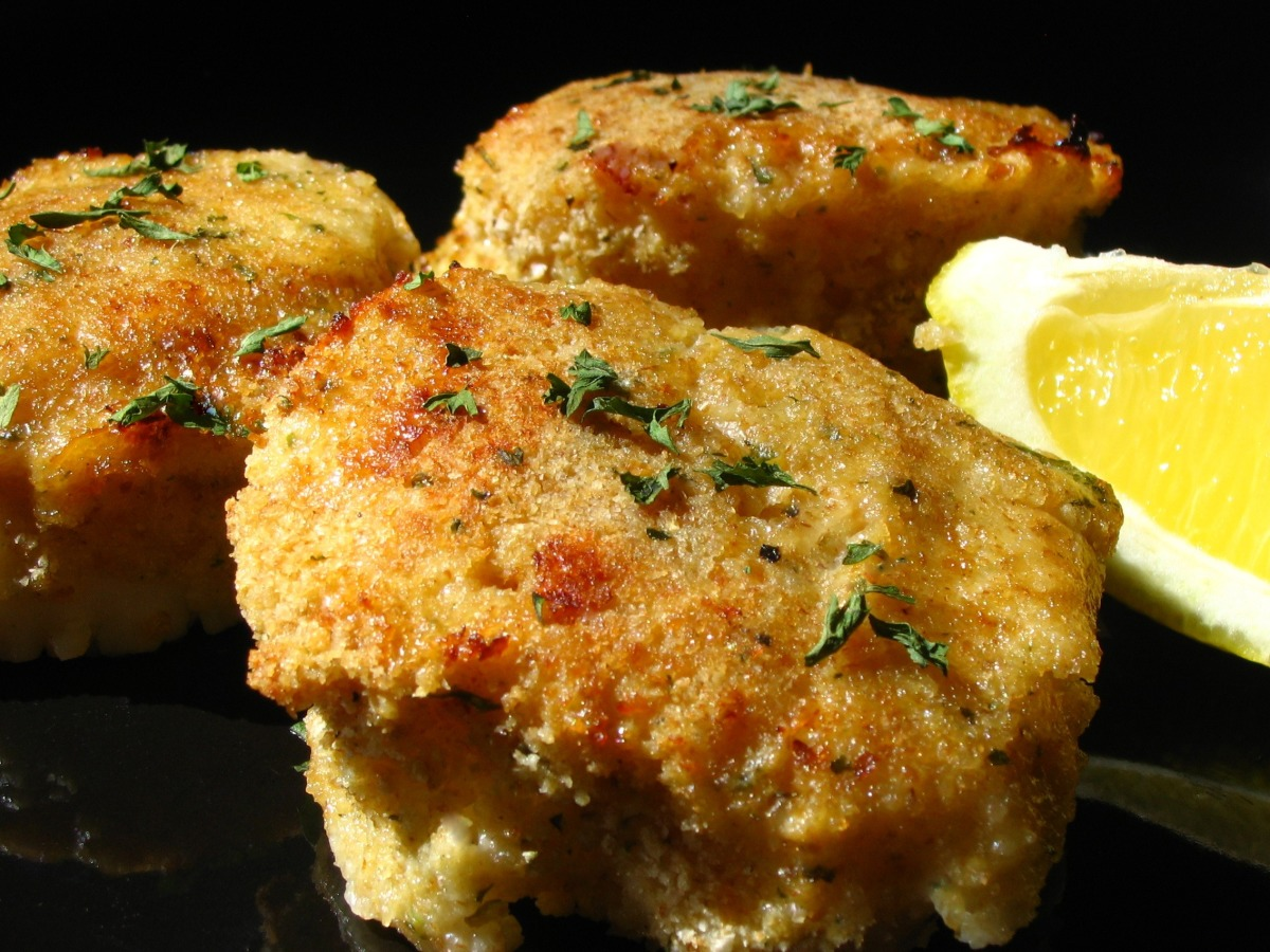 Low Fat Oven-Fried Scallops Recipe ...