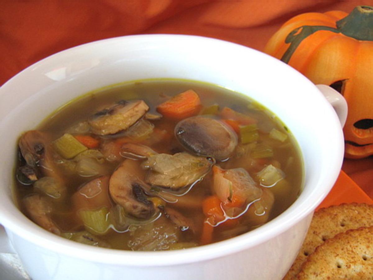 Creamless Mushroom Soup Recipe Food Com