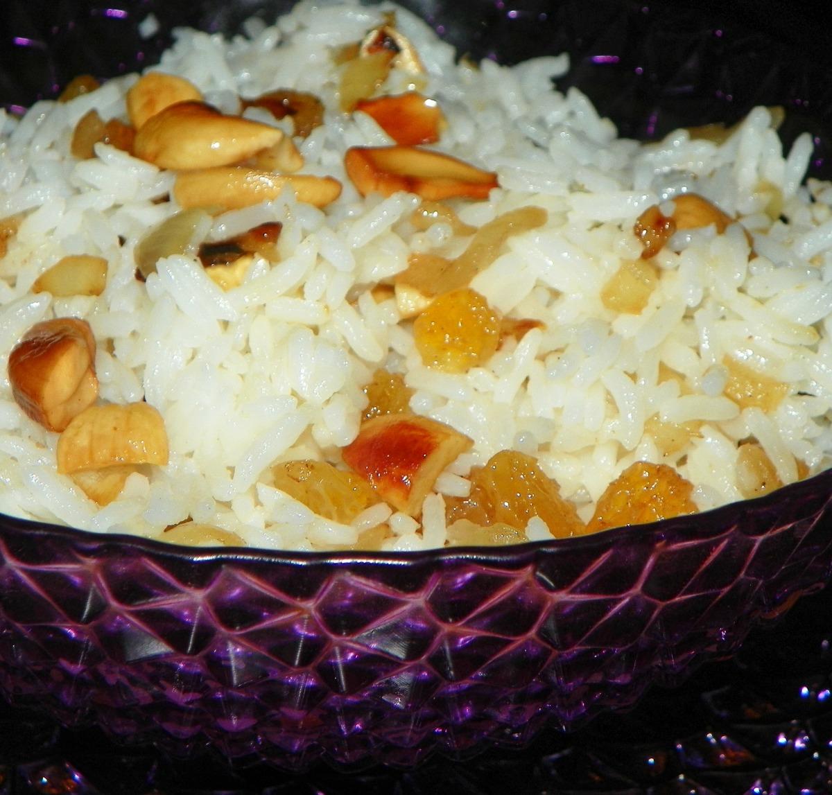 Coconut Basmati Rice Pilaf image