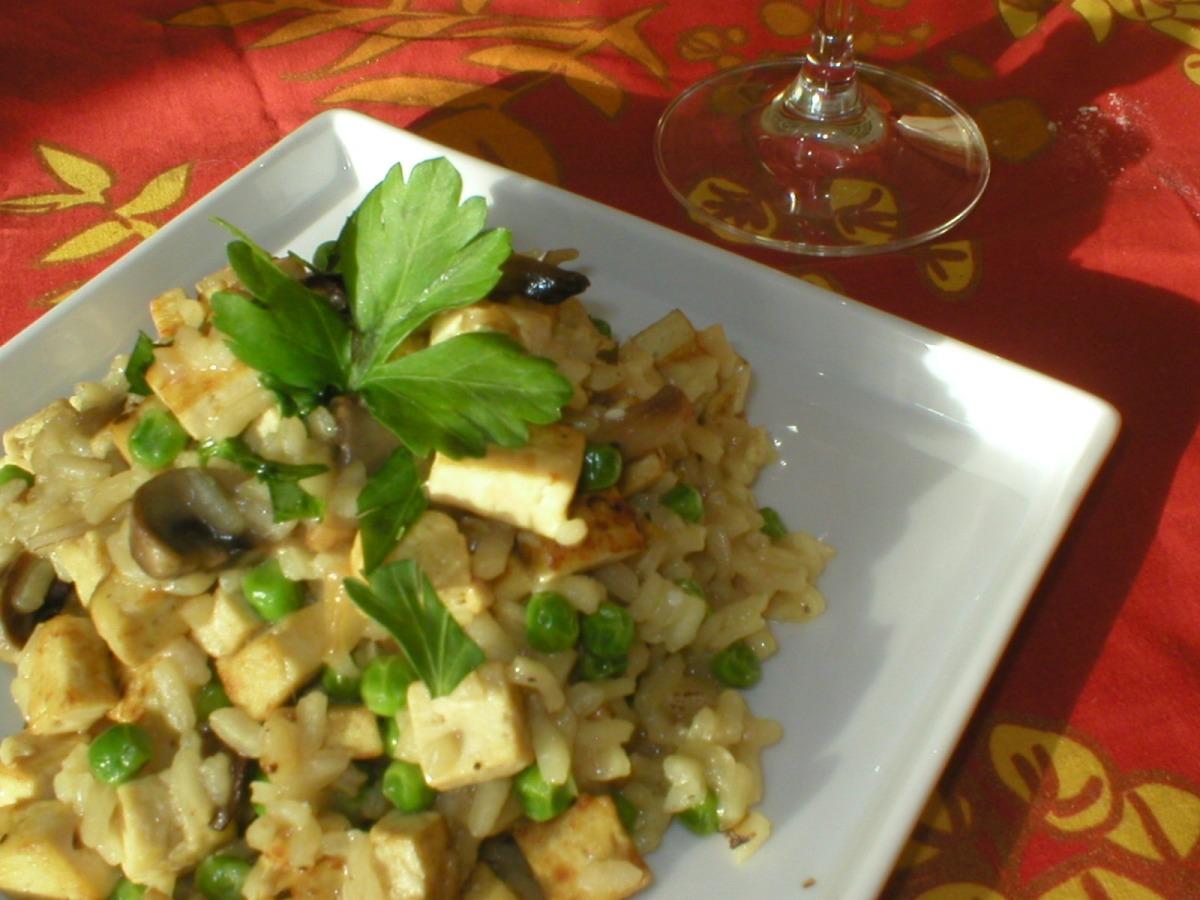 Tofu Risotto image