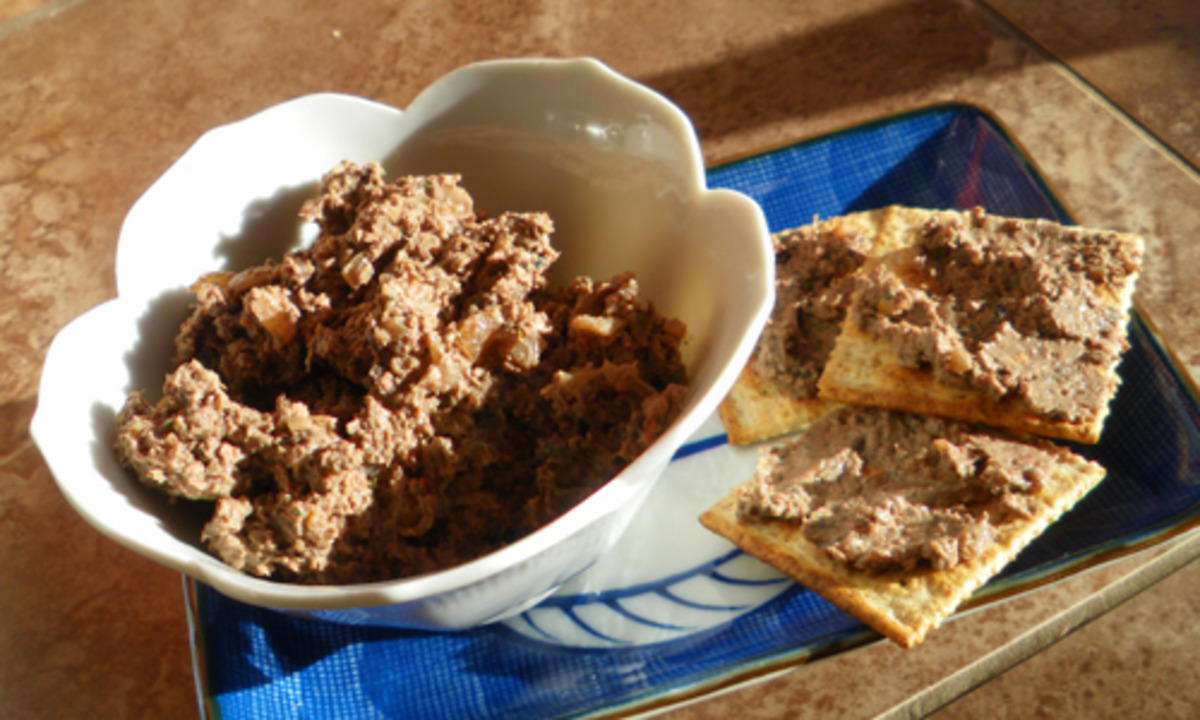 Quick and Easy Chicken Liver Pate_image