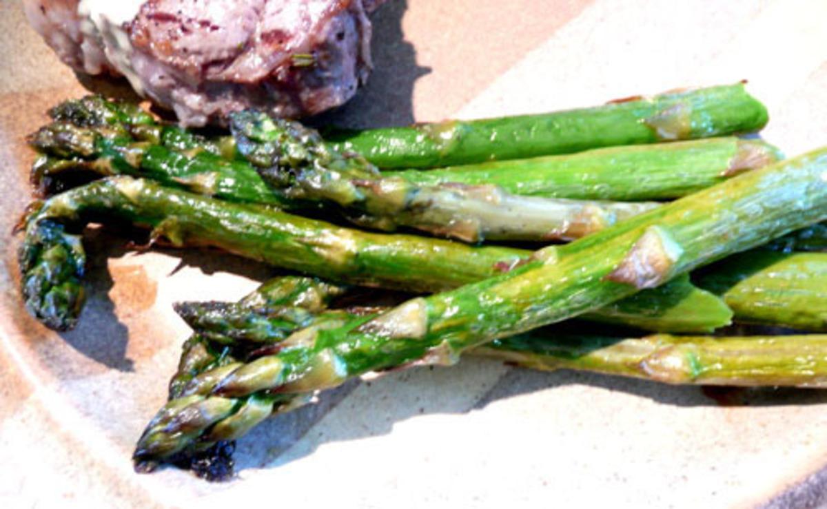 Roasted Sesame Asparagus image