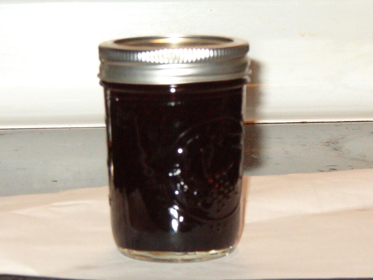 Spiced Blueberry Jam image