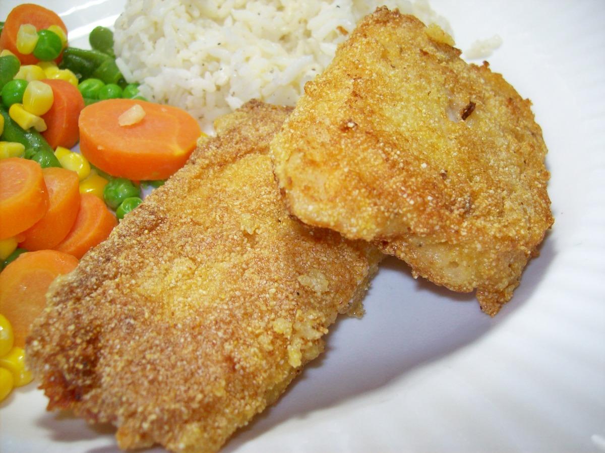 Pan-Fried Cornmeal Batter Fish image