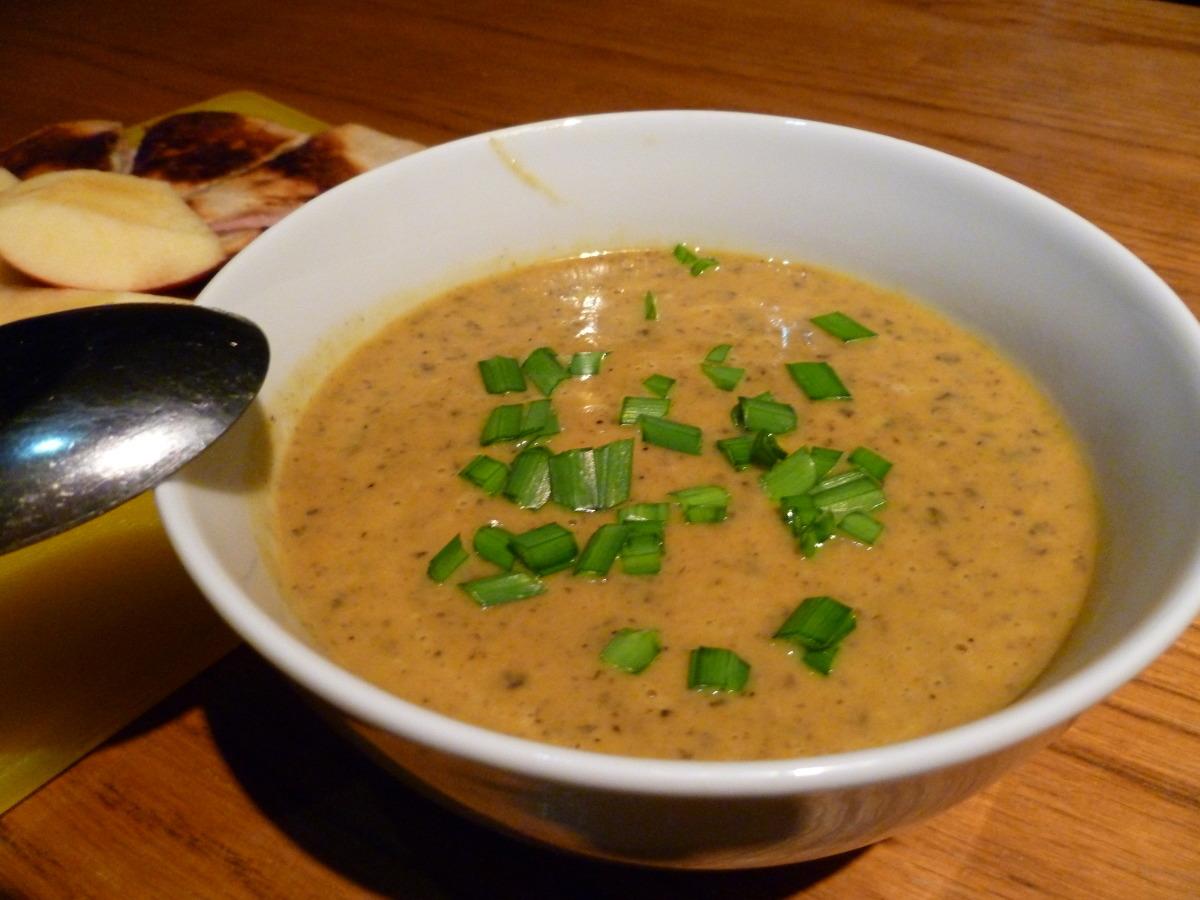 Sweet Potato Soup (Curried Kumara Soup) image