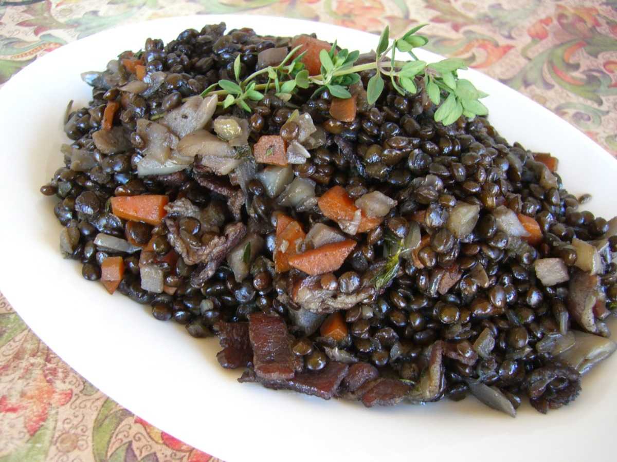 Ragout Of Beluga Lentils From The James Beard House Recipe Food Com