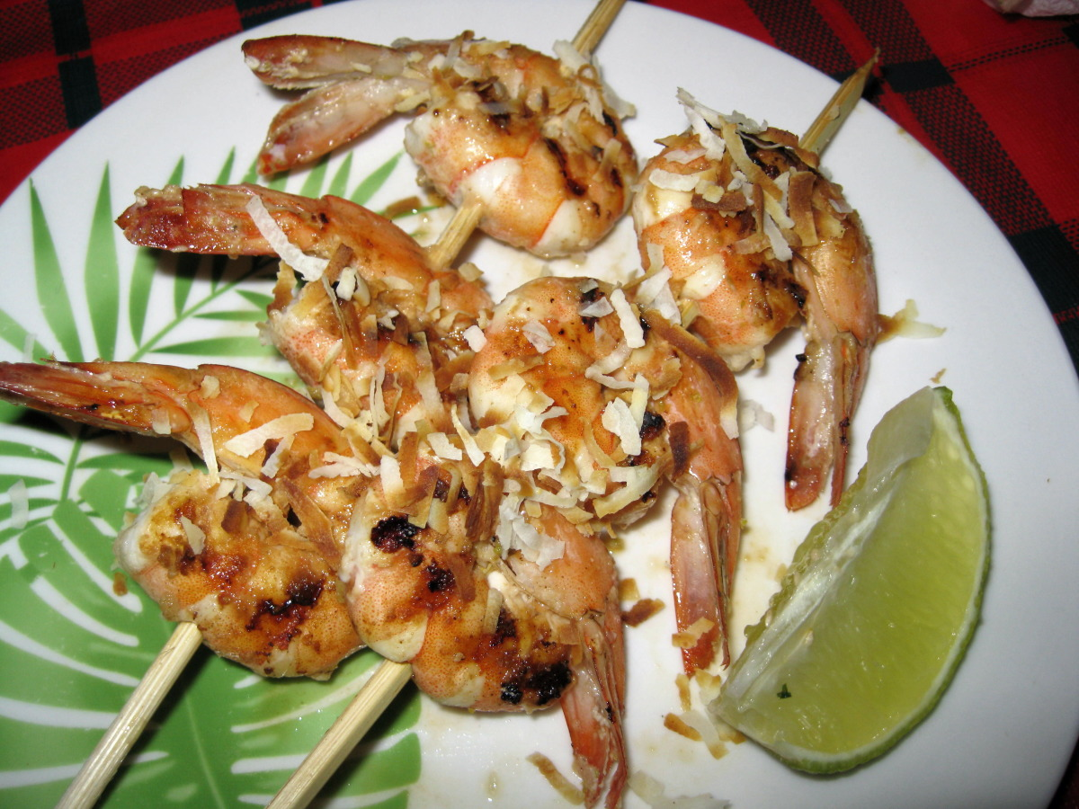 Coconut Lime Shrimp Skewers_image