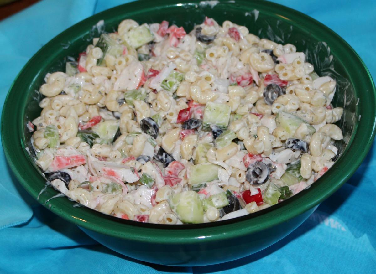 Crab Salad Recipe With Black Olives