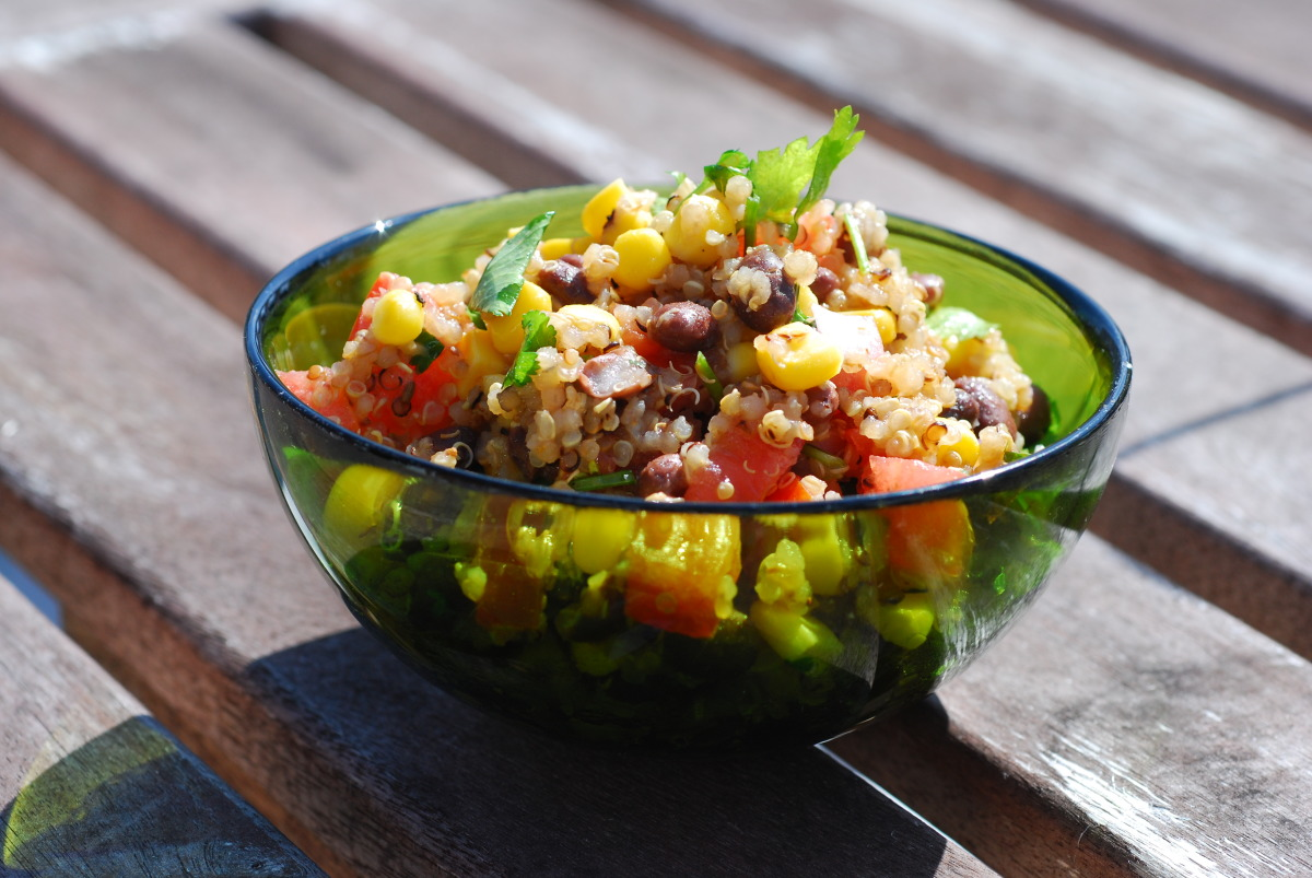 Quinoa and Corn Salad image