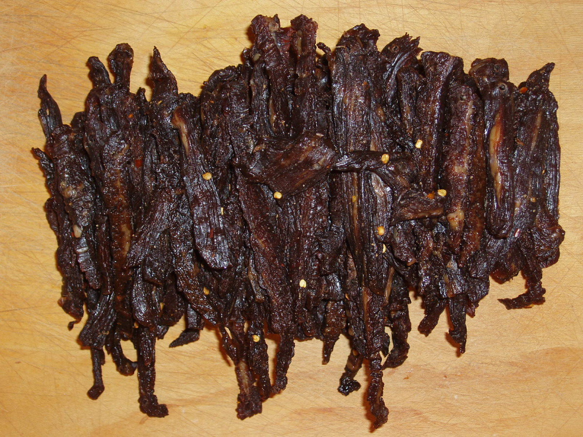 Best Teriyaki Beef Jerky Recipe