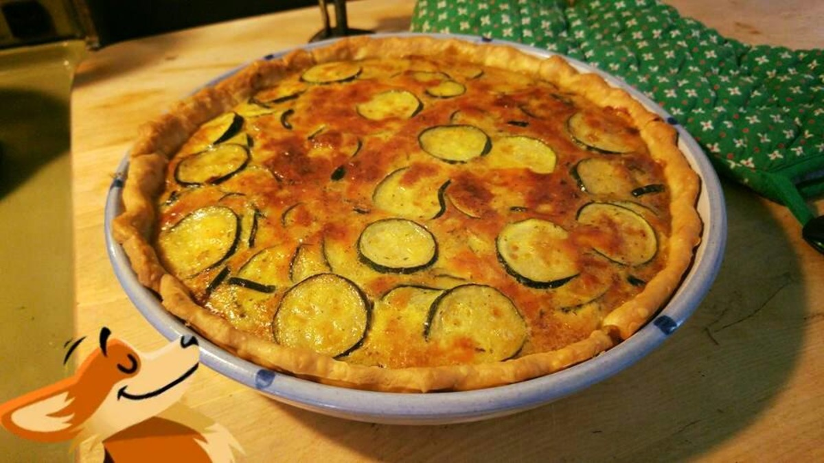 Marge's Zucchini Pie image