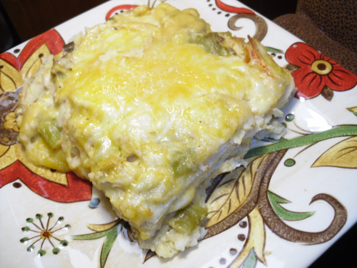 Green Chile Chicken Enchiladas Recipe Food Com