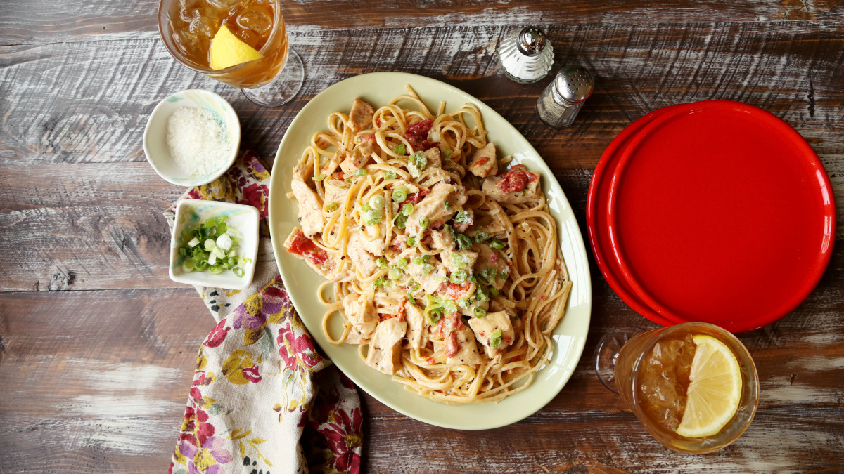 Creamy Cajun Chicken Pasta image