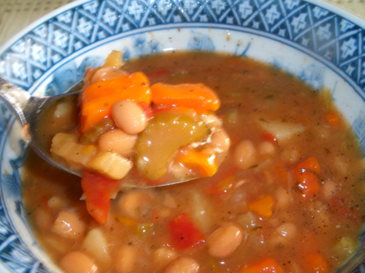 Portuguese Red Bean Soup Recipe Food Com