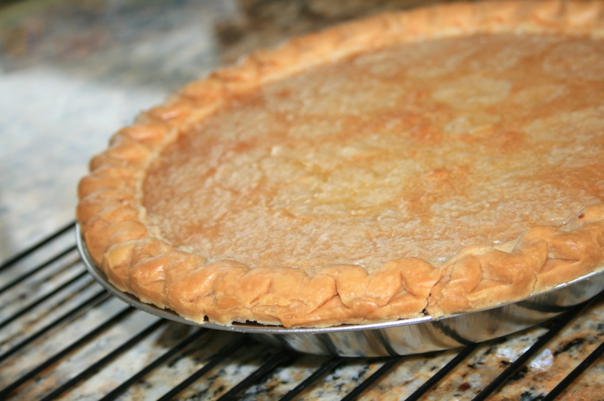 Tarte Au Sucre Francaise (French Canadian Sugar Pie) image
