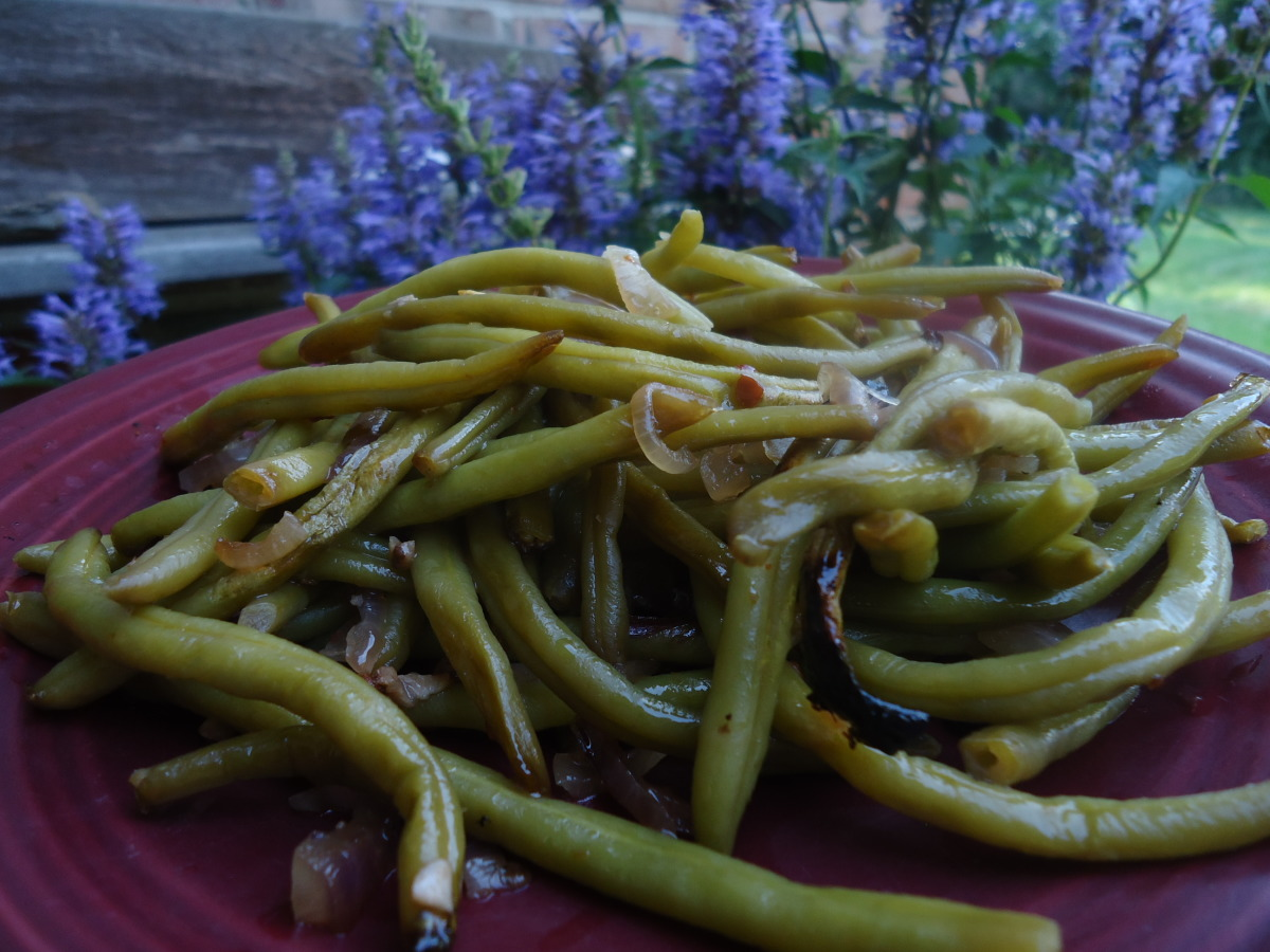 Asian Grilled Green Beans image