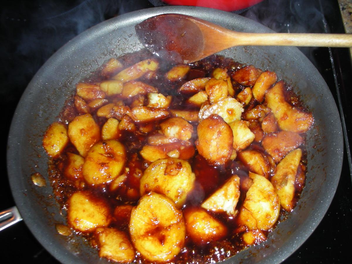 Caramelised Potatoes Sukkerbrunede Kartofler Recipe Genius Kitchen