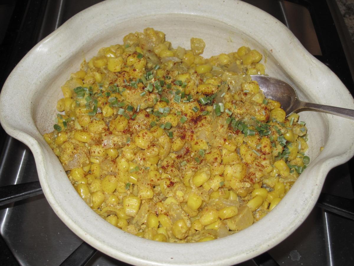 Curried Corn image