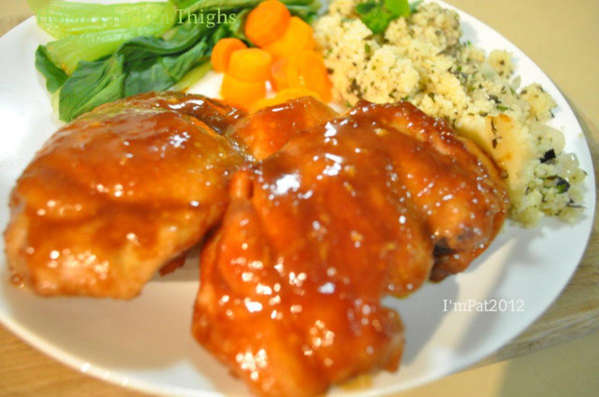 Hoisin Chicken Thighs image