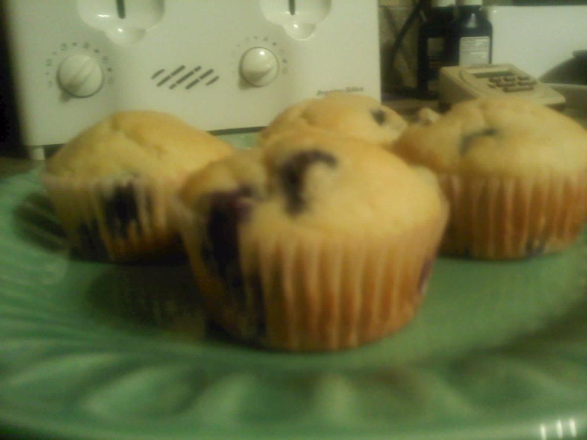 Fannie Farmer Blueberry Muffins image