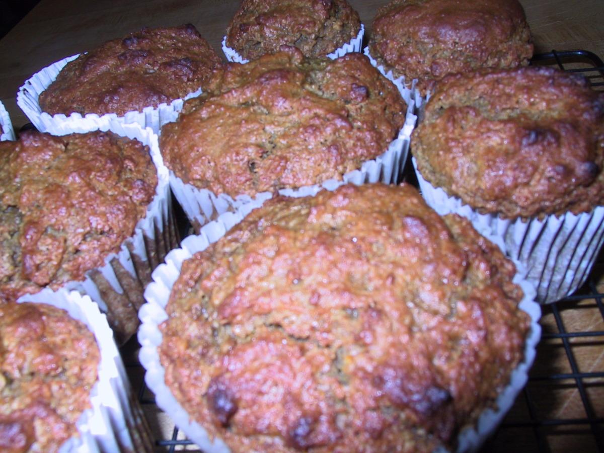 Food Processor Orange Date Muffins image