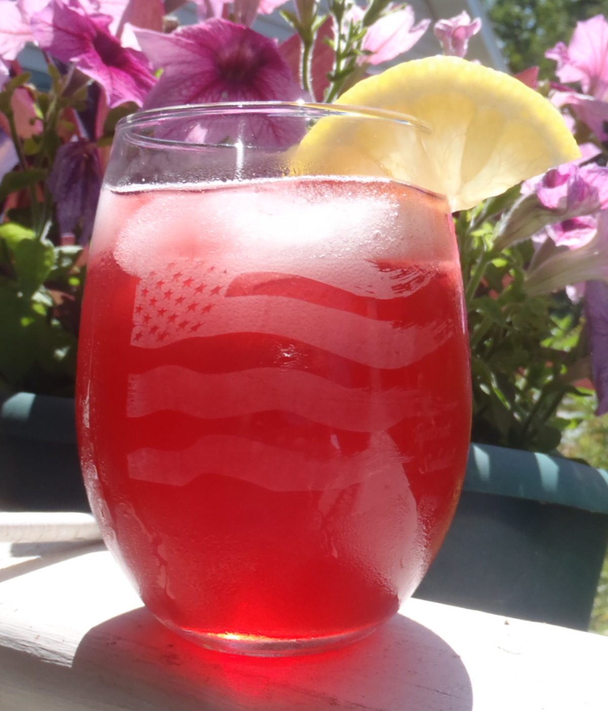 A Most Excellent Raspberry Iced Tea image