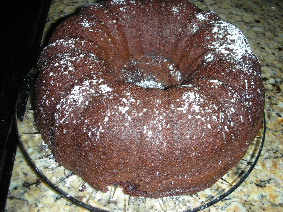 Kicked up Chocolate Chip Bundt Cake image