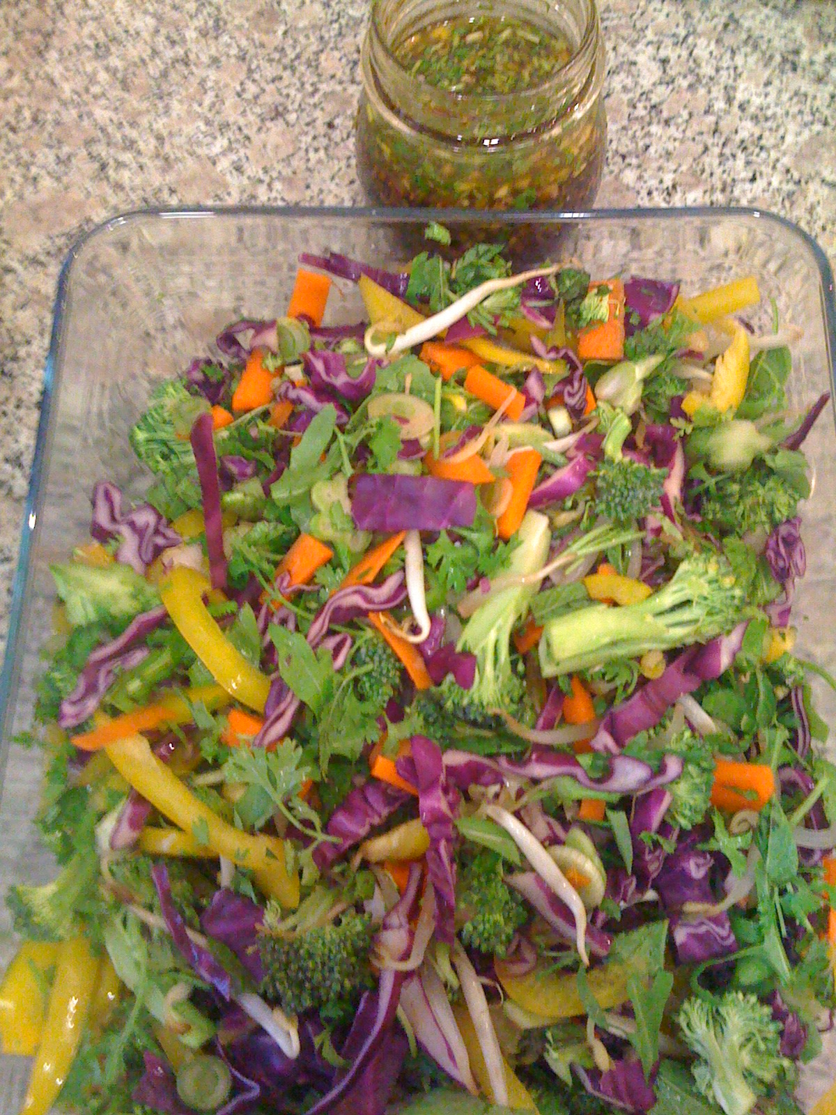 Whalin's Low-Fat Asian Salad image