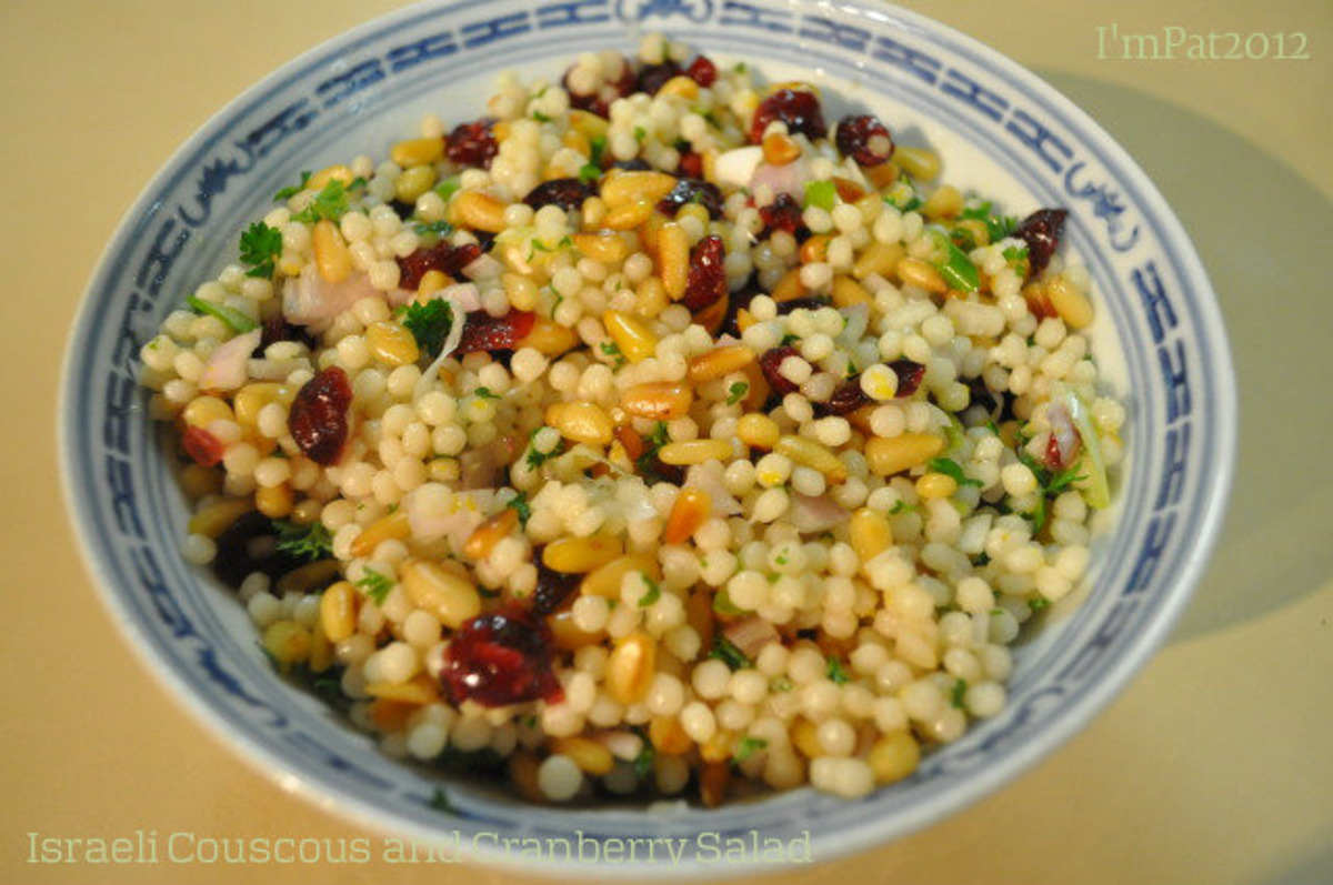 Israeli Couscous And Cranberry Salad Recipe Food Com