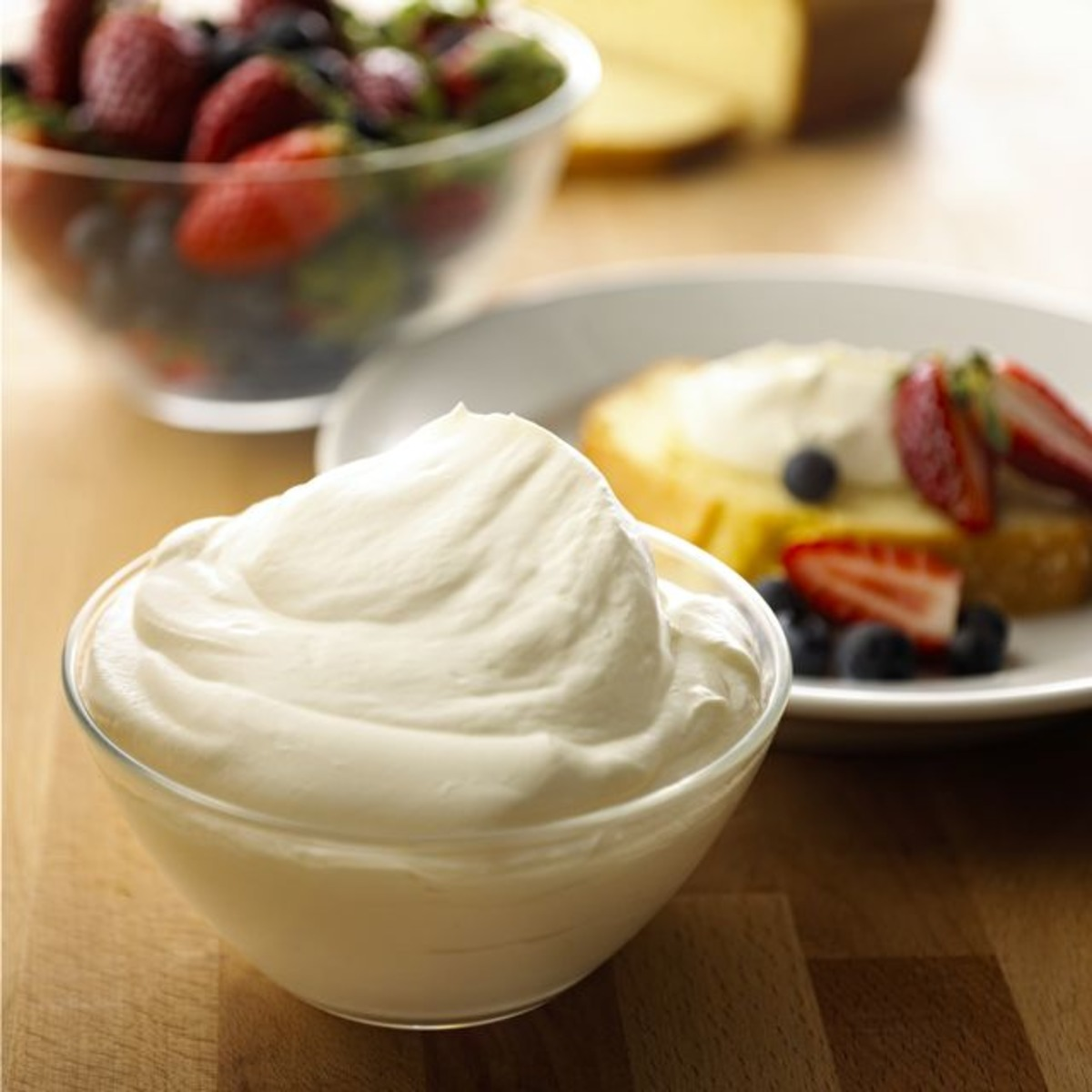 Creme Fraiche French Chantilly Cream Recipe Food Com