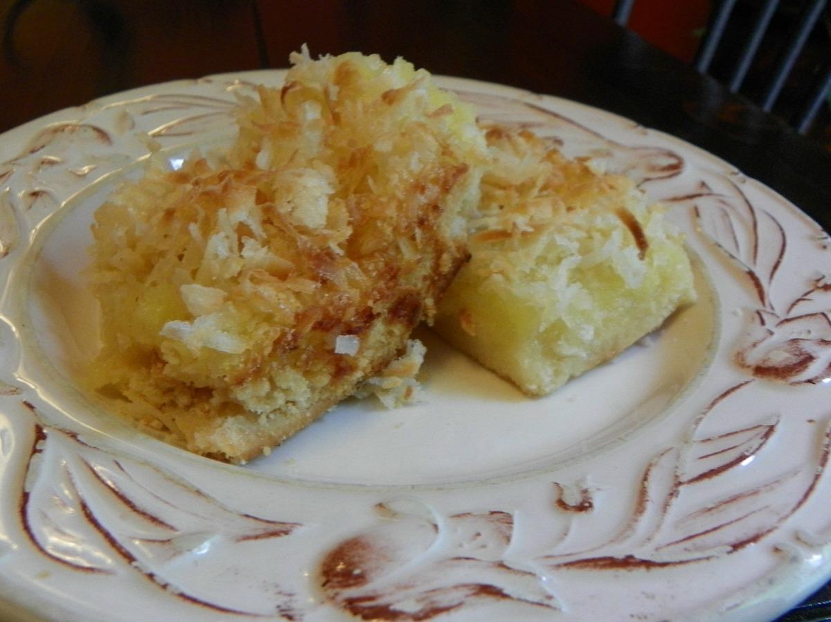 Lemon Coconut Squares image
