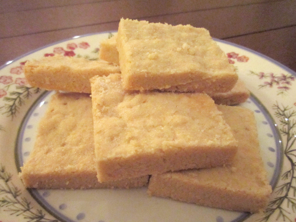Super Easy Shortbread 3 Ingredients Recipe Food Com