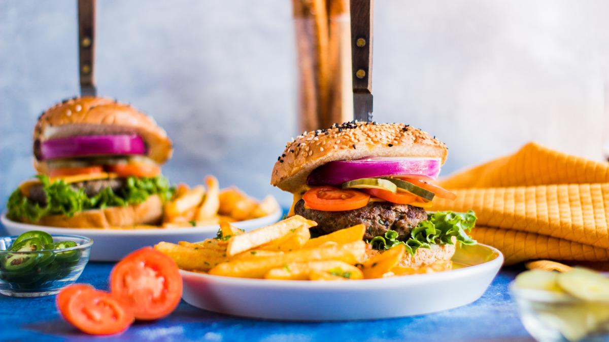 Beer And Pretzel Burgers Recipe Food Com